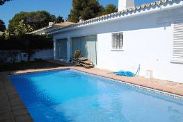 Lovely semi-detached villa on the beachside in Los Monteros,  just a few minutes walking distance to beach