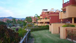 Garden apartment with pleasent views to green valley in complex with 24 hours security, swimming pool and gardens
