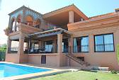 Lluxury Villa with fantastic views to Africa, Gibraltar, sea and mountains