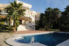 Bank repossession!  Villa situated on the Golden Mile with fantastic sea views already from the ground level